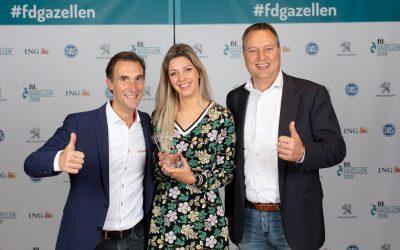 De award FD Gazellen 2018 hebben wij in de pocket!